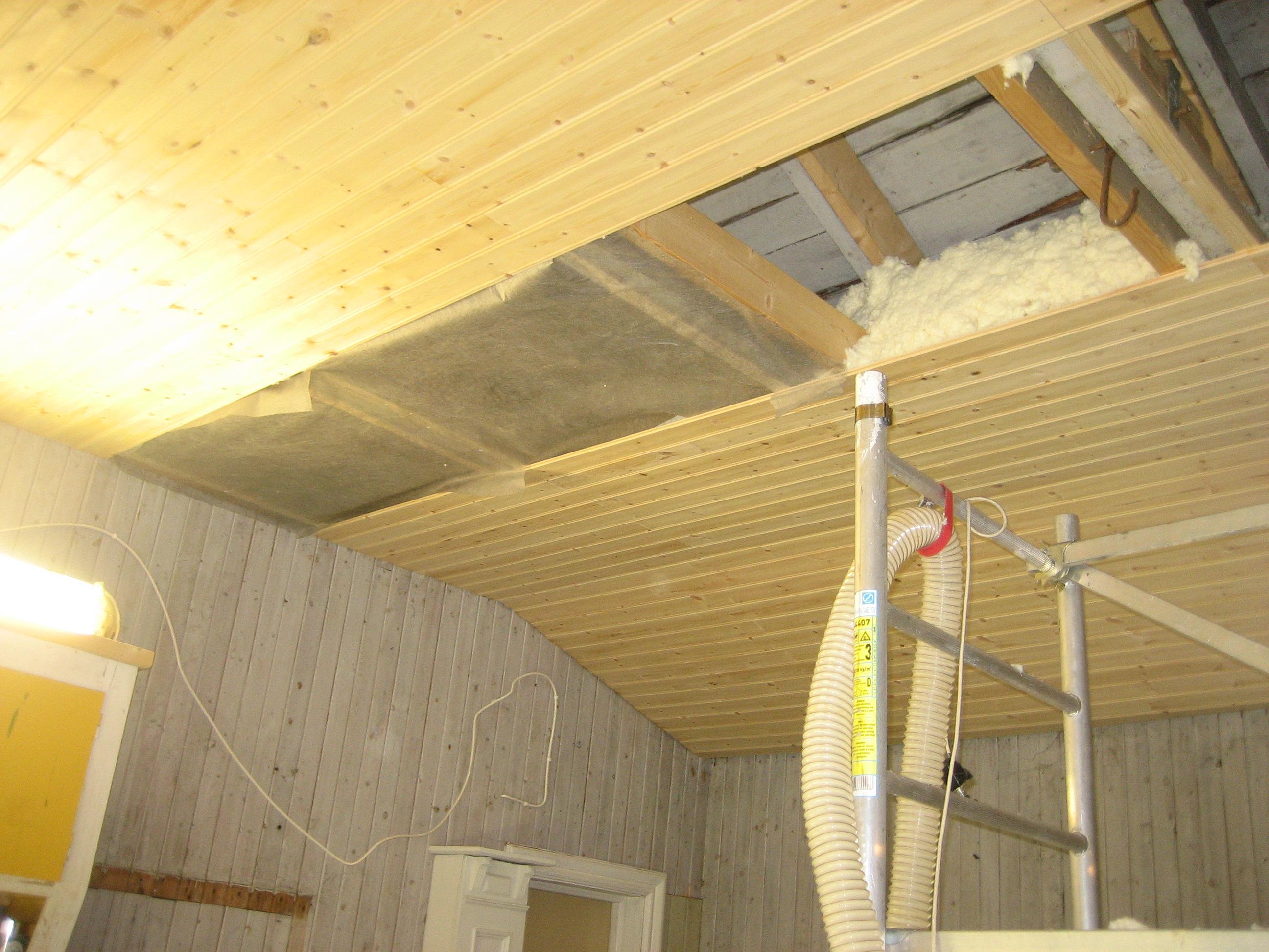 isolering garage tjocklek